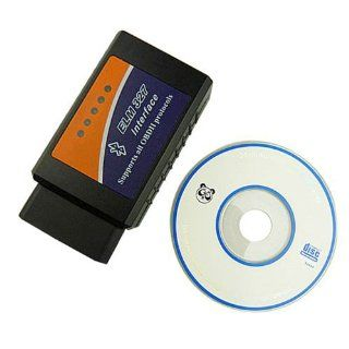 ELM 327 Bluetooth Obdii Obd2 Diagnostic Scanner Elm327 Wireless OBD 2 Scan Tool Check Engine Light CAR Code Reader Automotive