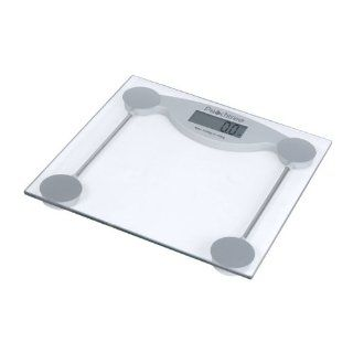 Peachtree GS 150 Tempered Glass Digital Bathroom Scale with LCD Display and 330 Pound Capacity Health & Personal Care