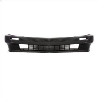 CarPartsDepot 352 371078 10 FRONT BUMPER PRIMERED BLACK FACIAL PLASTIC COVER GM1000104 Automotive