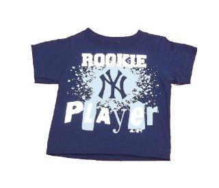 New York Yankees Infant Boys Navy Shirt By Adidas Size 12Mos Sports & Outdoors