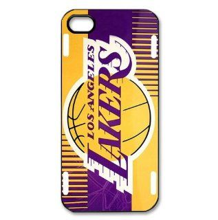 Fitted iphone5 Cases NBA L.A. Lakers logo back covers Cell Phones & Accessories