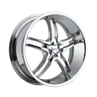"Boss Motorsports  340 Wheel with Chrome Finish (20x10""/5) Automotive"