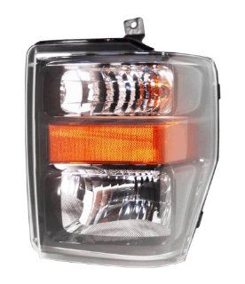 OE Replacement Ford Super Duty Driver Side Headlight Assembly Composite (Partslink Number FO2502285) Automotive