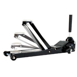 Omega 29023 Magic Lift Black Low Profile Hydraulic Service Jack   2 Ton Capacity Automotive