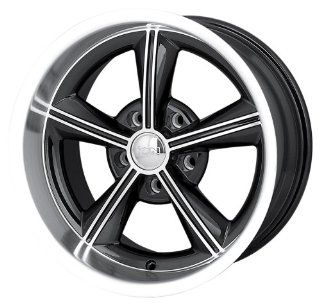 "Ion Alloy 625 Black Wheel with Machined Face and Lip (15x8""/5x120.65mm) Automotive"