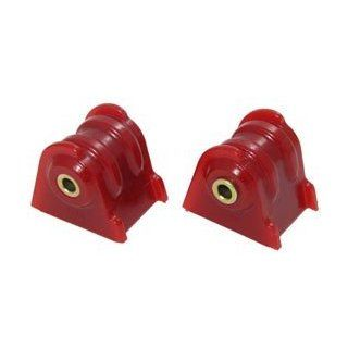 Motor Mount Red (2 Per Set) 1984 2006 Jeep Wrangler TJ, YJ, Cherokee XJ # 21104R Automotive
