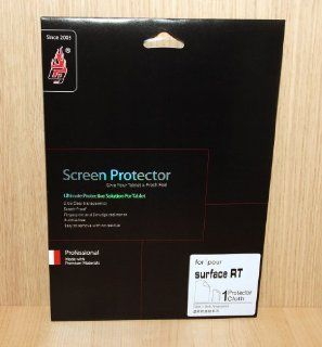 HD Clear anti fingerprint Screen Protector Film for Microsoft Surface Windows Pro/RT Cell Phones & Accessories