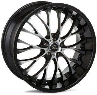 "LORENZO WL027 Series Gloss Black With Chrome Lip Wheel (20x10""/5x112mm) Automotive"