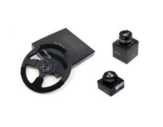 87 96 Toyota Pickup NRG 320MM Steering Wheel + Hub + Quick Release Black Automotive