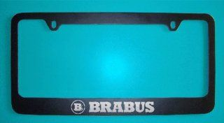 Mercedes Benz Brabus Black License Plate Frame (Zinc Metal)