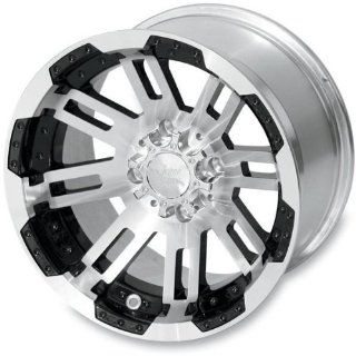 Vision Wheel Type 375 Warrior Front Wheel   14x7   4+3 Offset   4/110 , Position Front, Wheel Rim Size 14x7, Rim Offset 4+3, Bolt Pattern 4/110 375 147110BW4 Automotive
