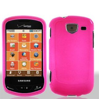 For VERIZON Samsung Brightside U380 Accessory   Pink Case Cover Protective + Lf Stylus Pen Cell Phones & Accessories