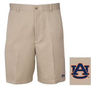 NCAA Auburn Tigers Men's Flat Front Shorts Sports & Outdoors