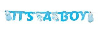 It's A Boy Letter Banner   Party Decorations & Banners/Baby Showers  Other Products