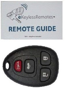 2007 2009 Saturn Outlook Keyless Entry Remote Fob Clicker With Do It Yourself Programming+ eKeylessRemotes Guide Automotive