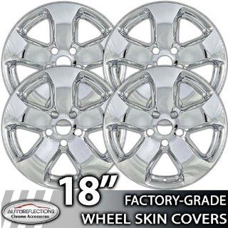 "2011 2012 Jeep Grand Cherokee Laredo/limited 18"" Chrome Wheel Skin Covers Automotive"