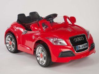Ride On Car 12V Audi Style Kids Power Wheels W/  Remote Control Red RC (RED OR NEXT AVAILABLE SENT AT RANDOM  BLACK OR WHITE) Toys & Games