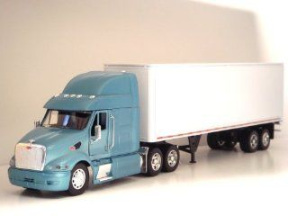 132 Peterbilt 387 Tractor Trailer G scale Toy truck (Blue) Toys & Games