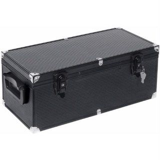 Atlantic 390 CD Hard Case with Hanging Sleeves   Black Electronics
