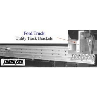 Tonno Pro 42 399 Tonno Fold Soft Tonneau Cover Utility Track Installation Kit For 2009 11 Ford Trucks Automotive