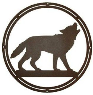 Howling Wolf Wall Decor   Wolf Decoration   Wall Decor Stickers