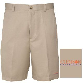 NCAA Clemson Tigers Men's Flat Front Shorts  Sports & Outdoors