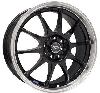"Enkei J10, Performance Series Wheel, Black (18x7.5""   5x112 & 5x114.3, 38mm Offset) 1 Wheel/Rim Automotive"