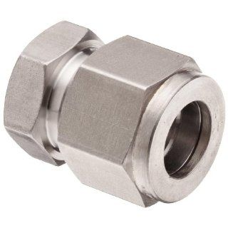 Brennan N2408 SS Series, Stainless Steel Double Ferrule Tube Fitting, Cap, Tube OD Compression Tube Fittings