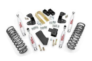Rough Country 422.20   2.5 inch Suspension Leveling Lift Kit with Premium N2.0 Series Shocks Automotive