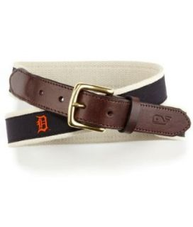 MLB Detroit Tigers Canvas Club Belt, 40 inch Sports & Outdoors
