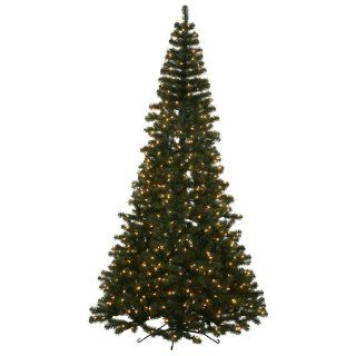 7.5 ft. Half Pre Lit Christmas Tree   Slim Christmas Tree Half