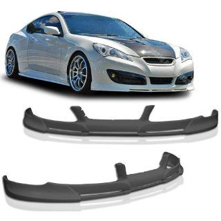 NEW   2010 2012 HYUNDAI GENESIS Coupe PD Type Front PU Bumper Lip Automotive