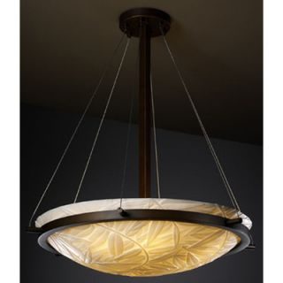 Justice Design Group Porcelina 3 Light Inverted Pendant