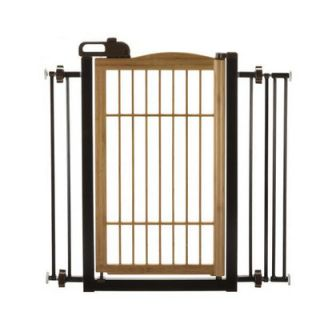 Richell One Touch Wooden Pet Gate