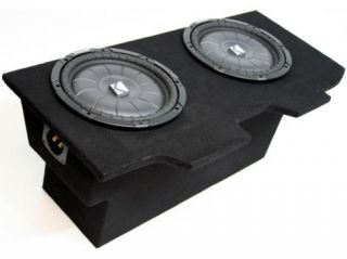 "CHEVY CAMARO 93 02 DUAL 10"" LOADED KICKER SUBWOOFER BOX"