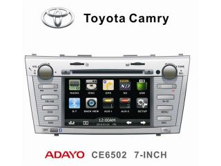TOYOTA CAMRY 07 11 OEM REPLACEMENT IN DASH DOUBLE DIN LCD TOUCH SCREEN GPS NAVIGATION MULTIMEDIA RADIO [ADAYO]