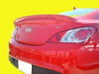 Painted 2010 2012 Hyundai Genesis Coupe Spoiler Factory Lip Style