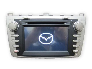 Mazda 6 09 12 In Dash Double Din Touch Screen GPS Navigation DVD iPod Radio S60 09 10 11