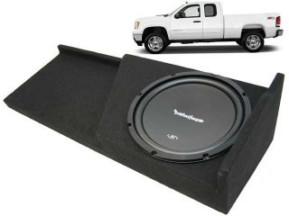 "07 13 GMC SIERRA 2500HD EXT CAB TRUCK 12"" ROCKFORD R1S412 SUB BOX ENCLOSURE NEW"