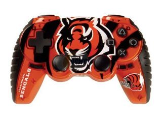Mad Catz Officially Licensed NFL Wireless Controller for PS3 Cincinnati Bengals