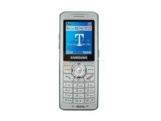 Samsung SGH t509 Silver unlocked GSM Bar Phones with Voice dial