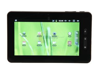 "iView 760TPC Tablet   Android 2.3 upgradeable to 4.0 ARM Cortex A8 1.00GHz 7"" TFT Capacitive Touch Screen 512MB Memory 8GB Flash"