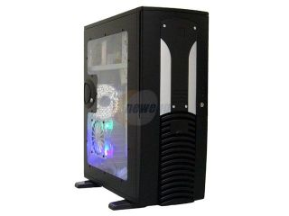 APEVIA MX Pider MX PIDER BK/500 Black Steel ATX Full Tower Computer Case ATX 500W Dual Fan W/ Automatic Fan Speed Control Power Supply