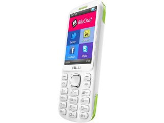 Blu Jenny TV 2.8 T1762T White/Pink Unlocked GSM Dual SIM Cell Phone