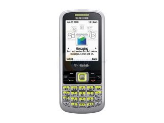 Samsung T349 Silver/Lime Unlocked GSM Bar Phone w/ QWERTY Keyboard / Bluetooth v 2.0 (SGH T349)