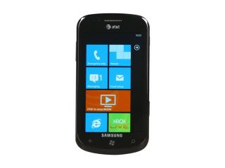 Samsung Focus Black 3G Unlocked GSM Smart Phone w/ Windows Phone 7 / WiFi / GPS