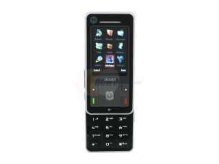 Motorola ZN300 Black Unlocked GSM Slider Phone with Youtube, Facebook App Built in