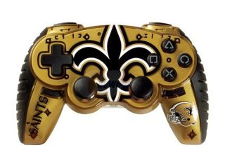 Mad Catz Officially Licensed NFL Wireless Controller For PS3   New Orleans Saints