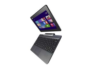 "ASUS Transformer Book T100 Intel Z3740 Quad Core 2GB DDR3 RAM 64GB SSD 10.1"" Touchscreen Tablet w/Dock, Windows 8.1 (T100TA C1 GR)"
