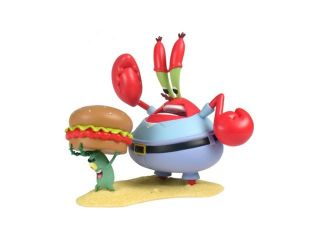 SpongeBob SquarePants Mini Figure World Series 1   Mr Krabs & Plankton